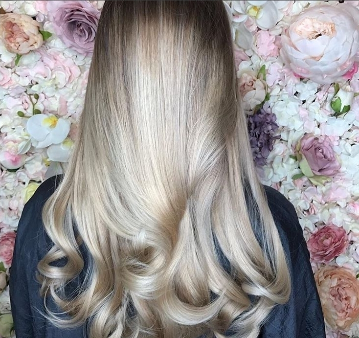 Blonde Bombshell Loving this clean fresh blonde ivoryhairdressing