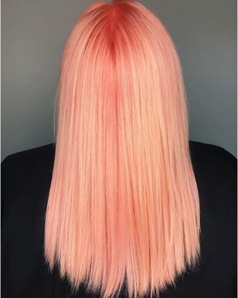 Just Peachy! How amazing is this colour by shelleygregoryhair