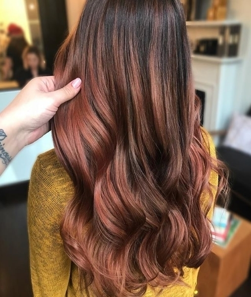 We love these beautiful sunset tones by hairbybritny