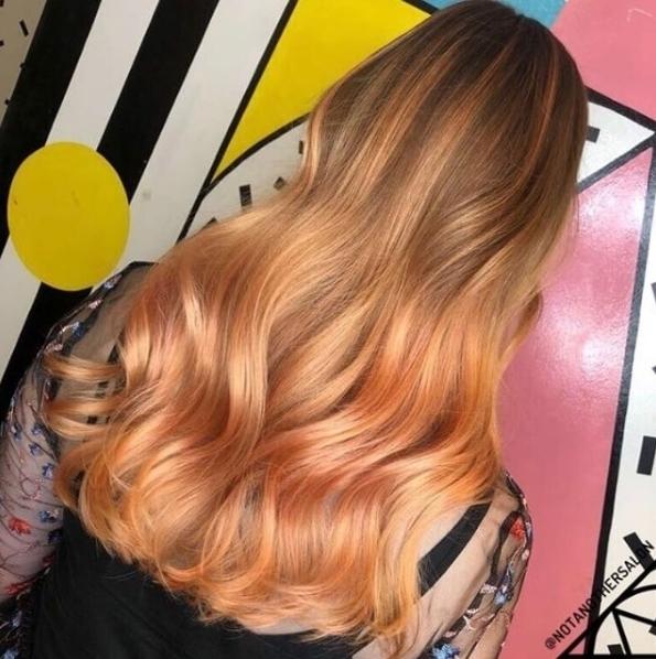 Peach  Rose Gold  Our dream hair We arehellip