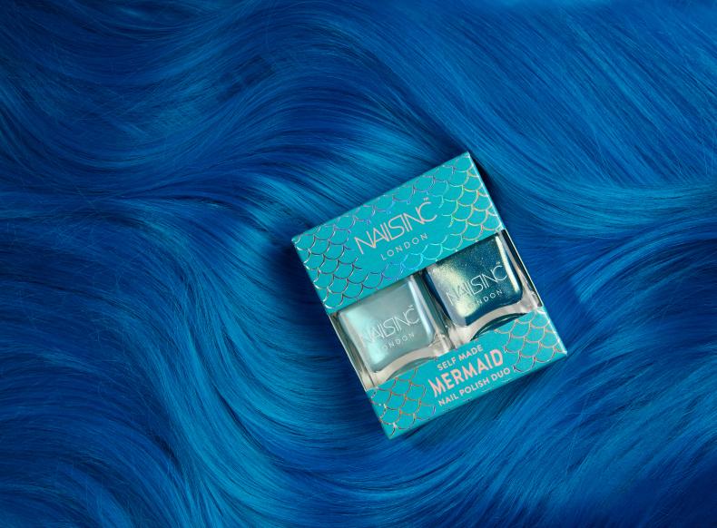 Nails Inc Mermaid Promotion