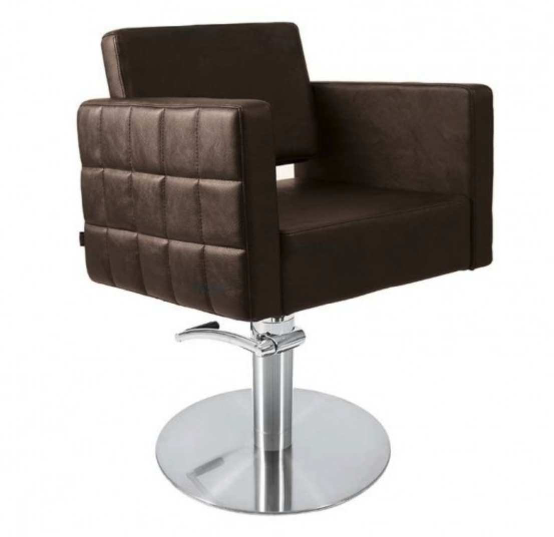 Lotus Washington Chair Brown With Square Base
