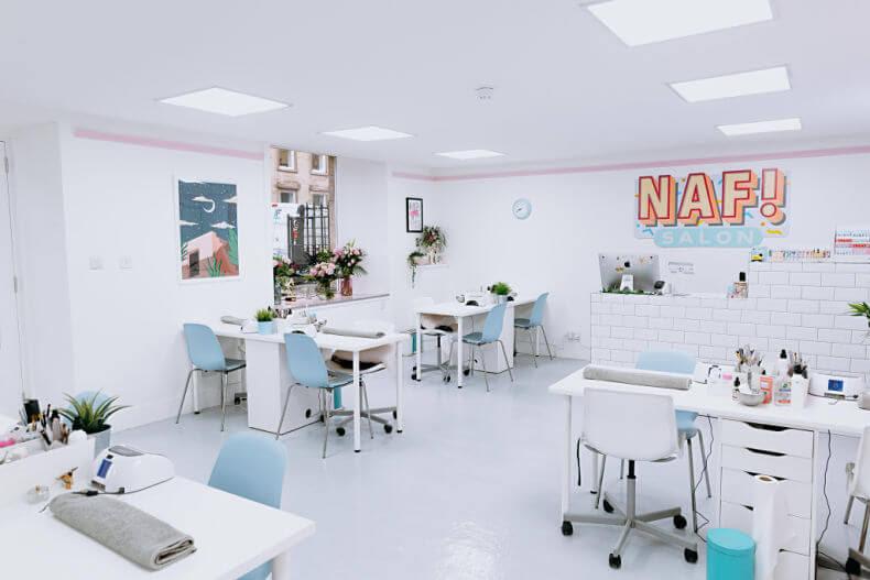 NAF salon interior