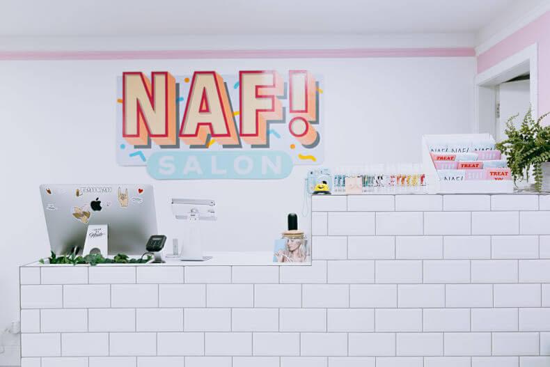 NAF Salon Reception
