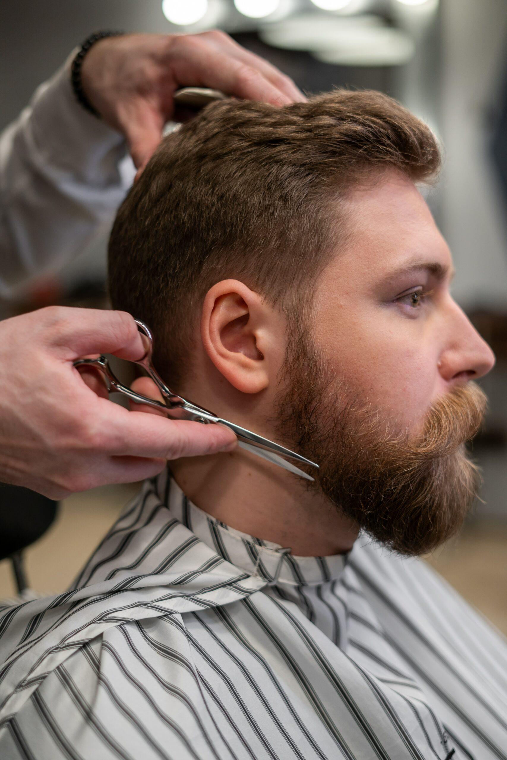 Men's haircut 2021