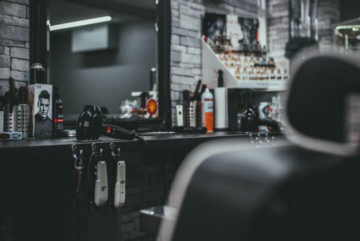 Dutton's Barbershop Interior