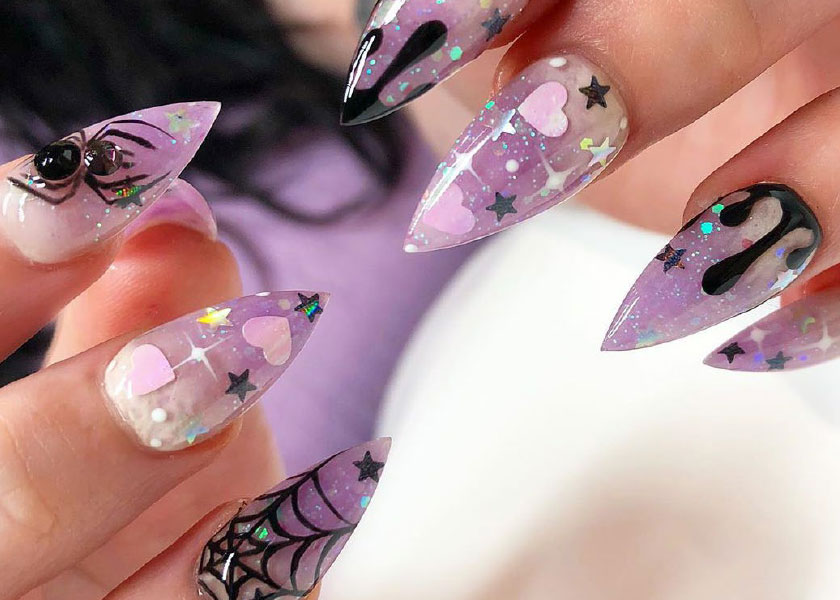 The Best Halloween Nail Art On Instagram Salons Direct