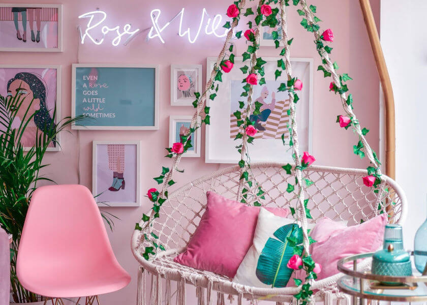 Rose & Wild Hair Salon Consultation Hub