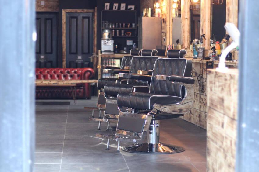 Blak Bear Barbering Chair