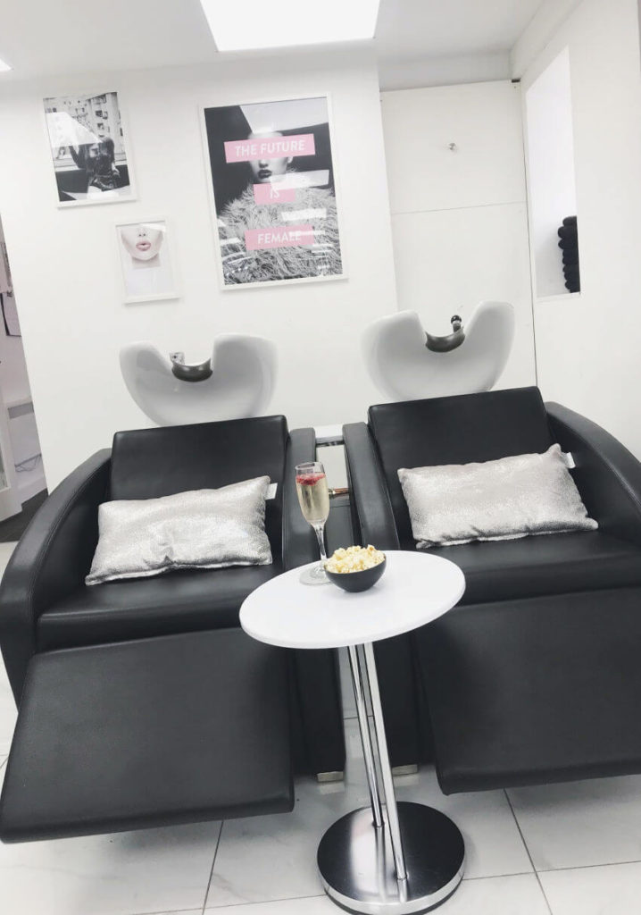 Ciannas Hair Lounge Back Wash Units