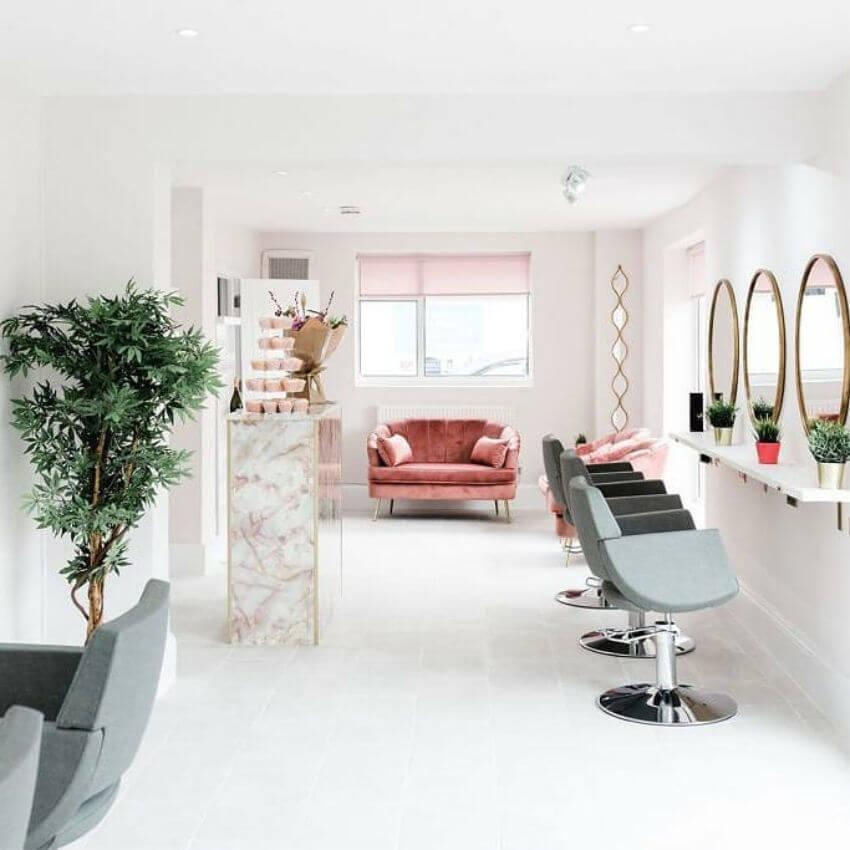 Yasmin Espron Hair Salon Chairs