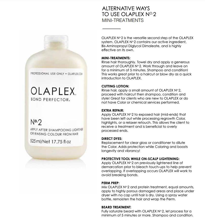 OLAPLX No.2 Mini Treatments