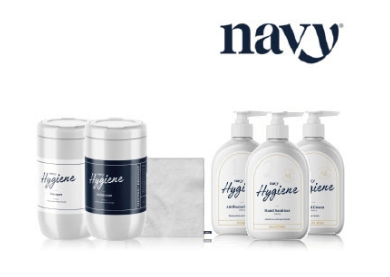 Navy hygiene products