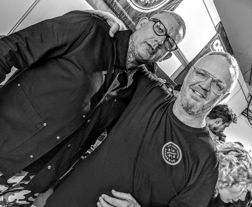 Garry Spencer Great British Barber Bash