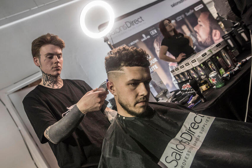 Salons Direct at the Great British Barber Bash