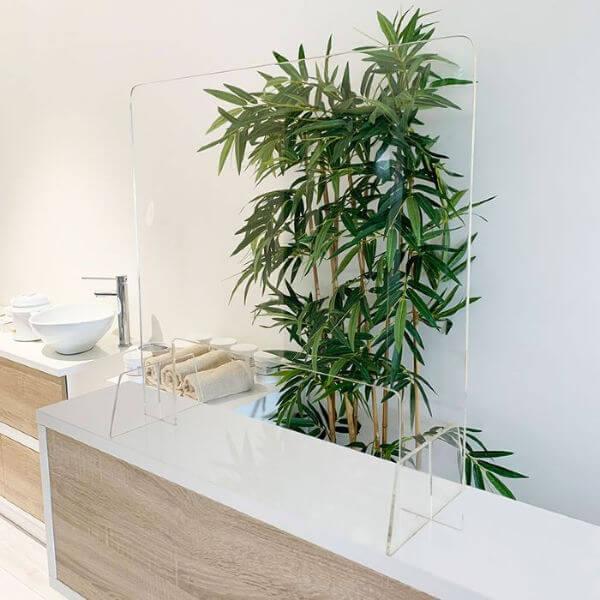 Clear Perspex Hygiene Screen