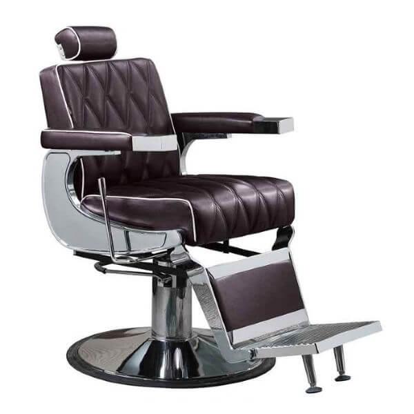 Lotus Eastwood Barber Vintage Chair Brown