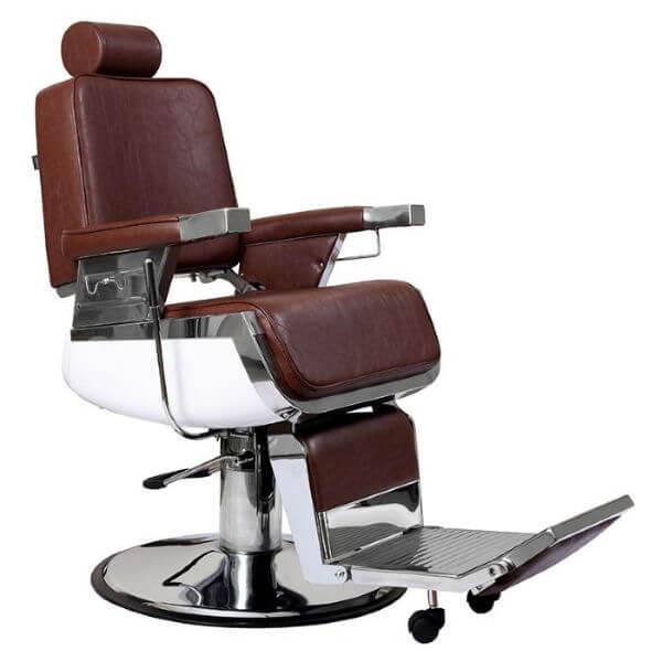 Lotus Raleigh Vintage Barber Chair Brown