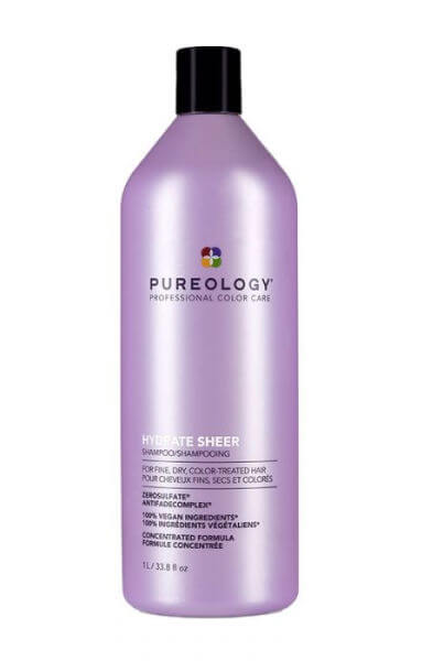 Pureology Hydrate Sheer Silicone -Free Shampoo 1L