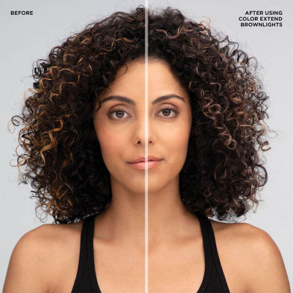 Redken Color Extend Brownlights Shampoo before and after results