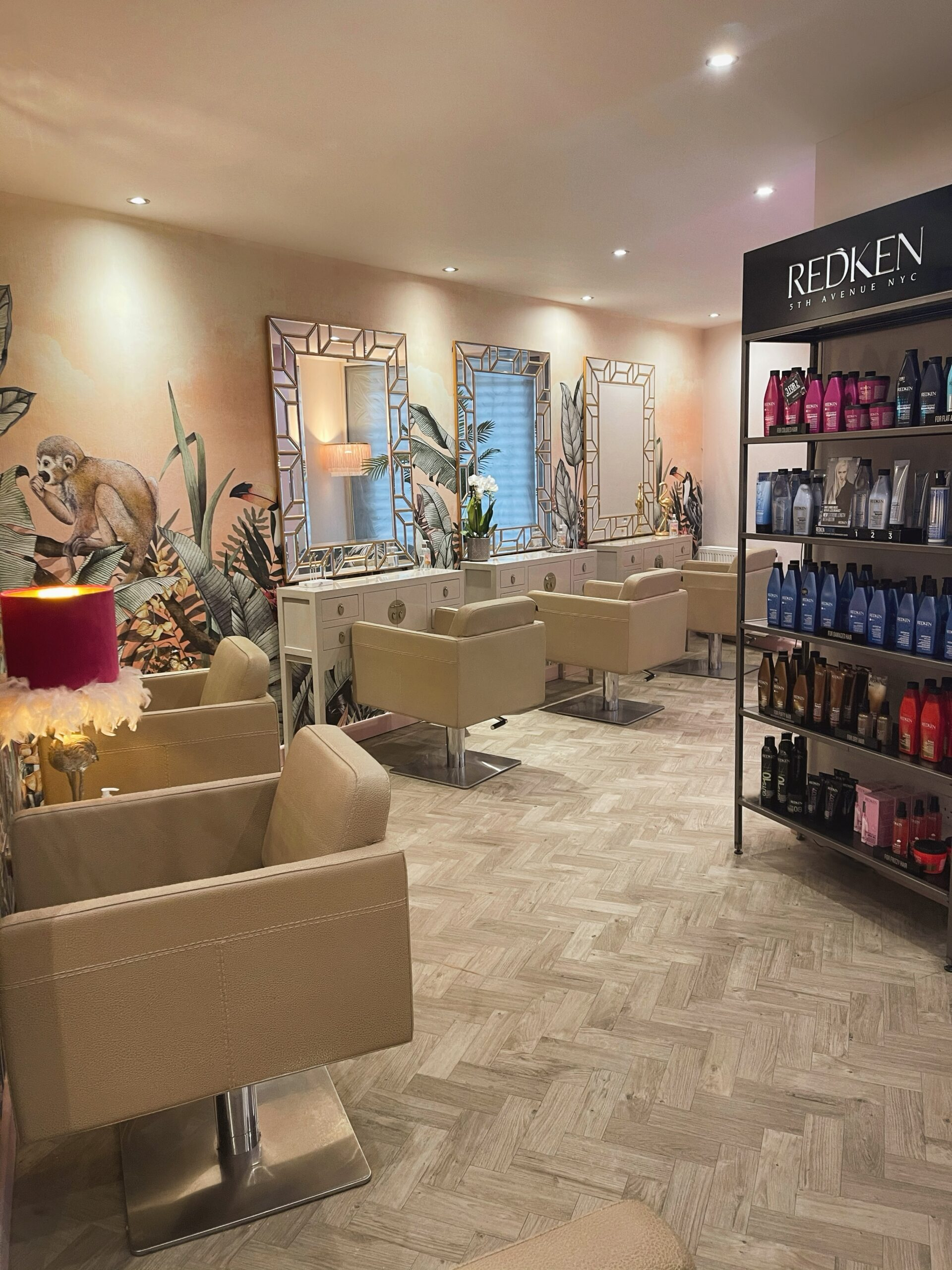 Wild Salon is one of the few Redken approved salons in the area