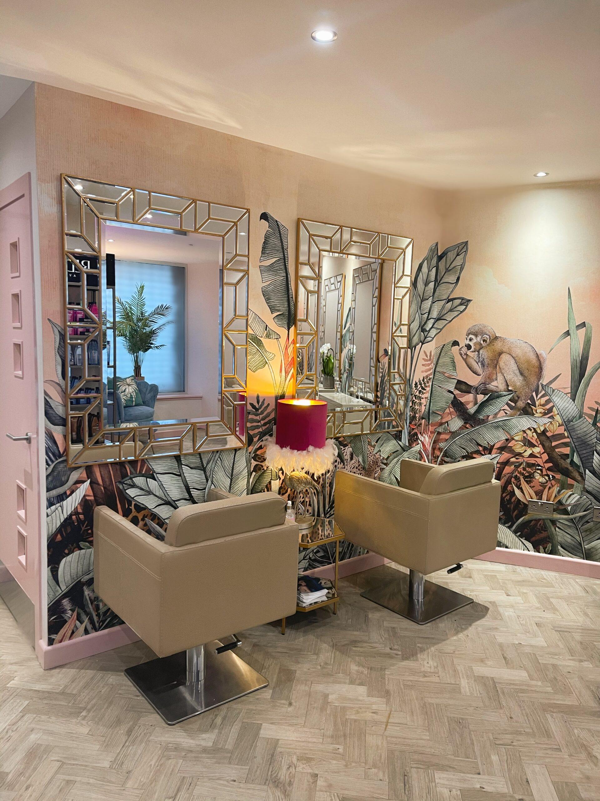 Wild Salon in Dundee has an absolutely stunning design