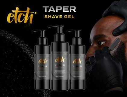 Etch Super Taper Shave Gel