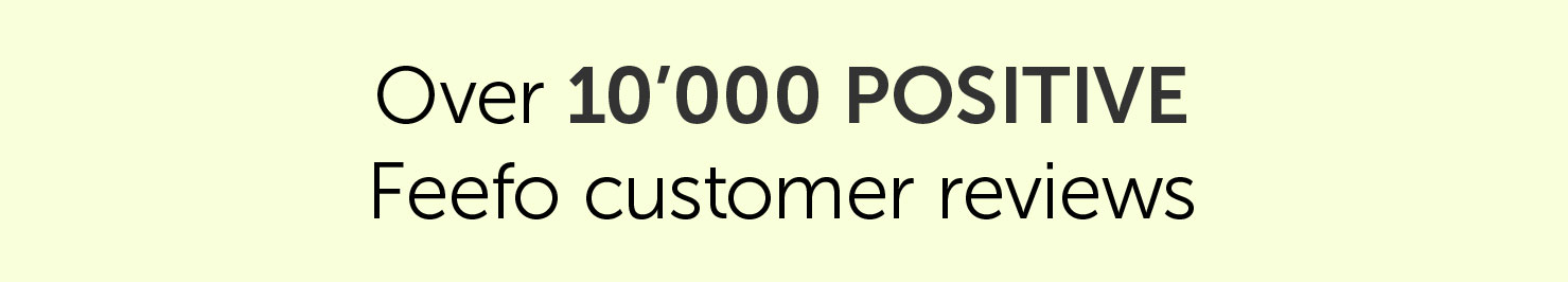 Over 10,000 positive Feefo customer reviews| Salons Direct