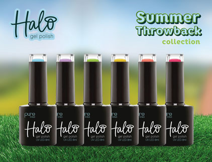 Halo Gel Polish Summer Throwback Collection