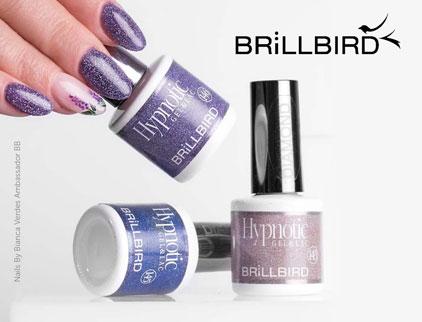 Brillbird Hypnotic Gel & Lac Diamond Gel Polish