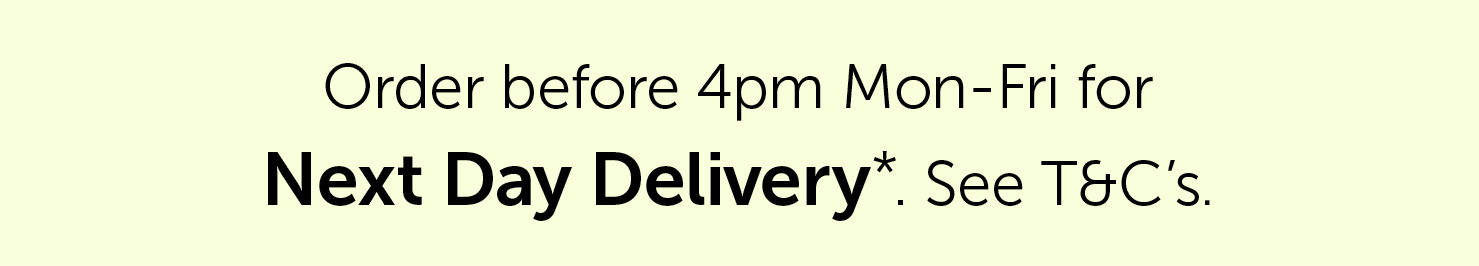 Please allow up to 3 working days for delivery. Furniture delivery times may vary. See T&C's| Salons Direct