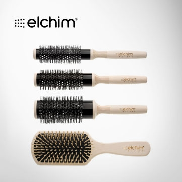 Elchim Wooden Brushes