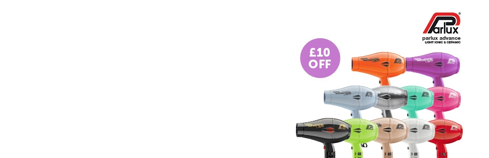 £10 off Parlux Advance Hairdryers