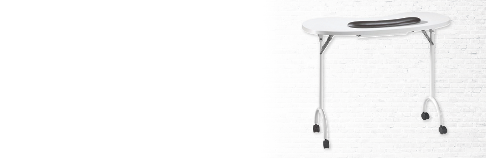 Portable Manicure Tables & Nail Tables