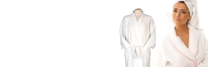 Salon Robes, Headbands & Spa Slippers