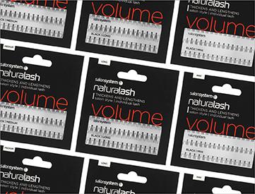 Salon System Individual Lashes Mix & Match