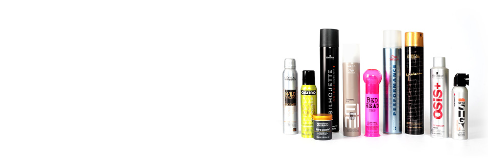 Hair Salon Styling Products