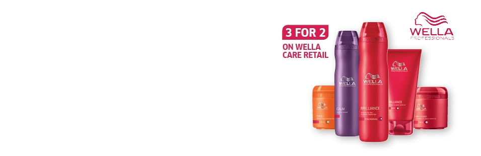 3 for 2 on Wella Care retail