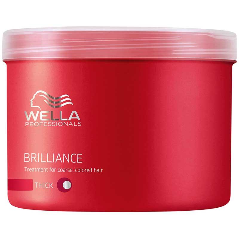 brilliance mask for coarse hair 500ml wella professionals. Black Bedroom Furniture Sets. Home Design Ideas