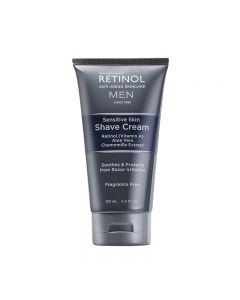 Retinol Mens Sensitive Shave Cream 120ml