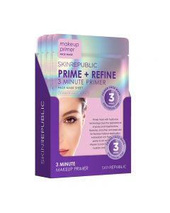 Skin Republic Prime + Refine Face Mask 18ml Pack of 10