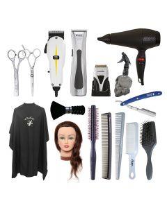 Total Barber Starter Kit Left Handed