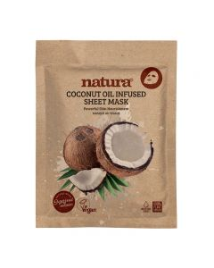 natura Coconut Oil Infused Mask 22ml