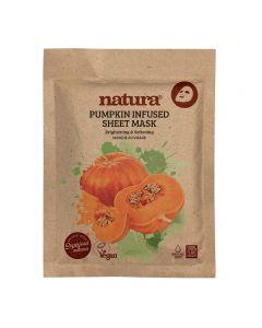 natura Pumpkin Infused Sheet Mask 22ml