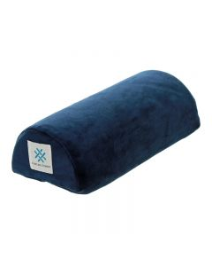 Memory Foam Half Moon Nail Pillow Navy