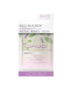 Voesh Pedi In A Box Ultimate 6 Step Sage Fulness