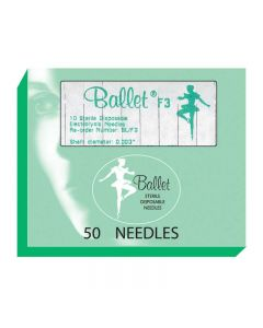Ballet Stainless Steel Needles F2 002 (x50)
