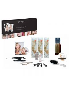 Balmain Professional Starter Hair Extension Kit for Colour and Design 5 CD UK
