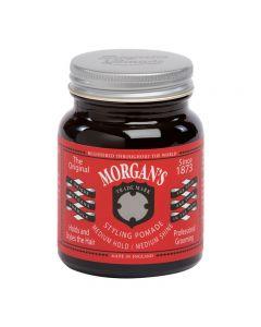 Morgans Pomade Medium Hold/ Medium Shine 100g Jar (Red label)