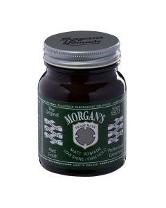 Morgans Matt Pomade Low Shine/ Firm Hold 100g Jar (green label)